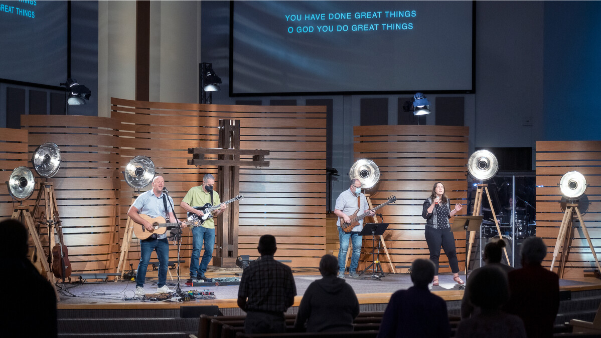 In-person Worship Service